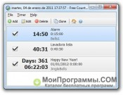 Free Countdown Timer скриншот 2