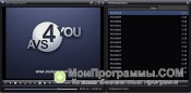 Скриншот Avs media player