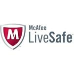 Программа для обеспечения безопасности ПК в реальном времени McAfee LiveSafe