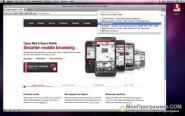 Opera для Mac OS X скриншот 1