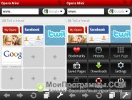Opera для Symbian скриншот 4