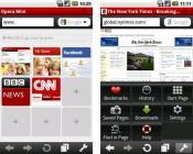 Opera для iPhone скриншот 3