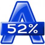Программа для создания образов и записи дисков Alcohol 52%