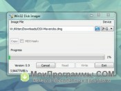 Скриншот Win32 disk imager