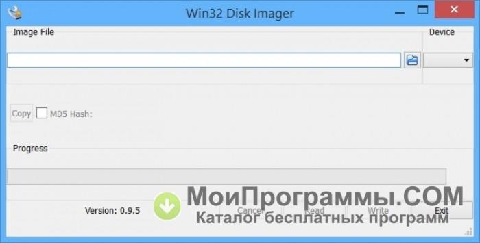 Win32 Disk Imager 64 bit скачать бесплатно русская версия