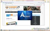 Avant Browser для Windows 7 скриншот 3