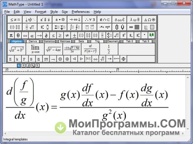 mathtype 6.8