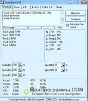 SpeedFan скриншот 3