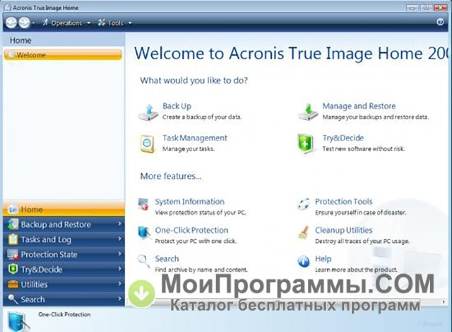 Home image portable true acronis 2013 Download Acronis