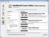 RealWorld Cursor Editor скриншот 2