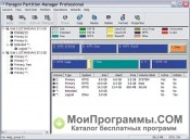 Скриншот Paragon Partition Manager