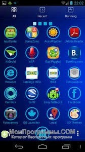 Скриншот GO Launcher Ex