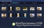 Скриншот Wondershare Video Editor