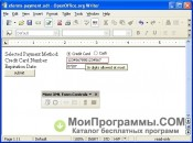 Скриншот OpenOffice