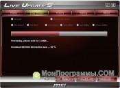 Скриншот MSI Live Update
