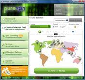 PureVPN скриншот 1