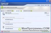 Скриншот ZoneAlarm Pro
