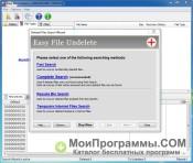 Скриншот Easy File Undelete