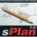 Редактор, предназначенный для составления электрических схем Splan