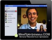 Скриншот Skype для iPad