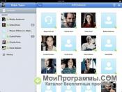 Skype для iPad скриншот 4