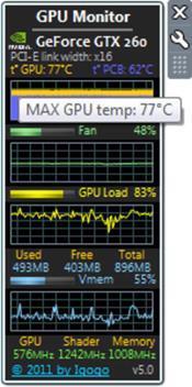 GPU Monitor скриншот 3