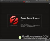 Скриншот Zaxar Game Browser