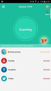 VPN Master скриншот 1