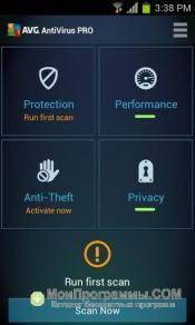 AVG для Android скриншот 1