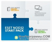 Скриншот Eset Nod32 Start Pack
