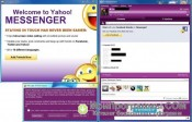 Скриншот Yahoo Messenger