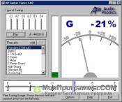 AP Guitar Tuner скриншот 4