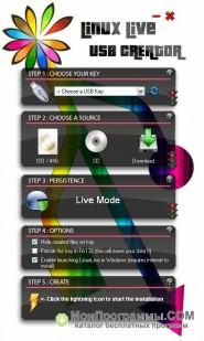 Скриншот Linux Live USB Creator