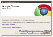Google Chrome Beta скриншот 1