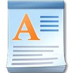 Программа для работы с небольшими документами WordPad